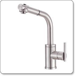 Danze Parma Single-Handle Pull-Out Kitchen Faucet