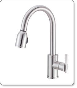 Danze Parma Single-Handle Pull-Down Kitchen Faucet