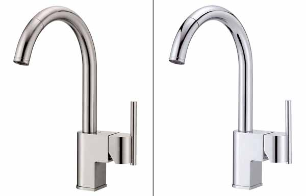 Danze D457144SS Como Single-Handle Pull-Down Kitchen Faucet, Stainless