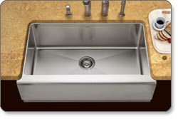 Houzer EPG-3300 Epicure Farmhouse Kitchen Sink