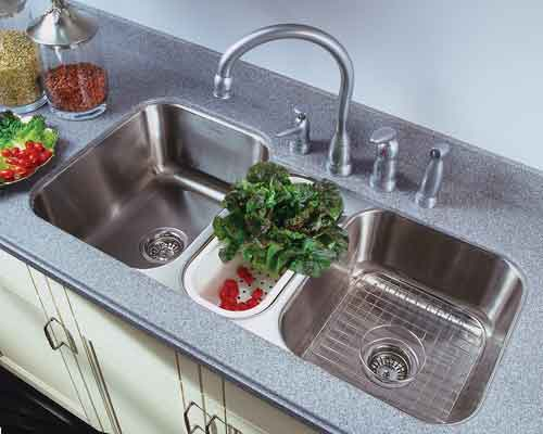 ... Triple Bowl Kitchen Sink - Kitchen Sinks Undermount Triple Basin
