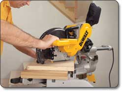DEWALT 10-Inch Double-Bevel Sliding Compound Miter Saw