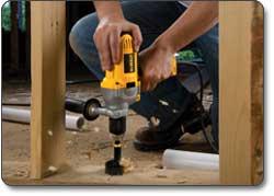 DEWALT (DWD215G) 1/2-Inch VSR Mid-Handle Grip Drill with Keyless Chuck