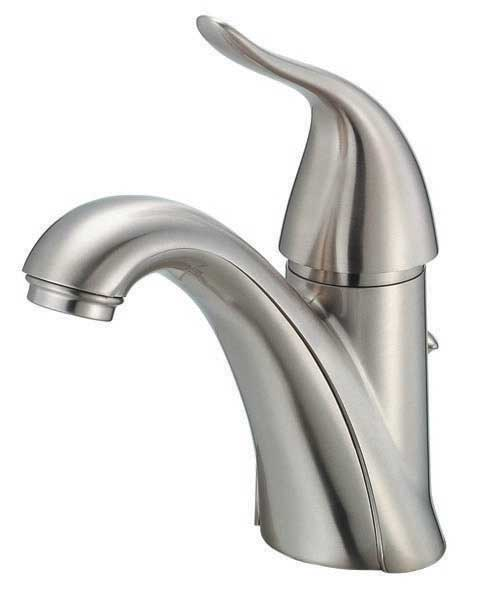 Bathroom Single Handle Faucet : Single Handle Lavatory Faucet, Brushed Nickel - Touch On Bathroom ...