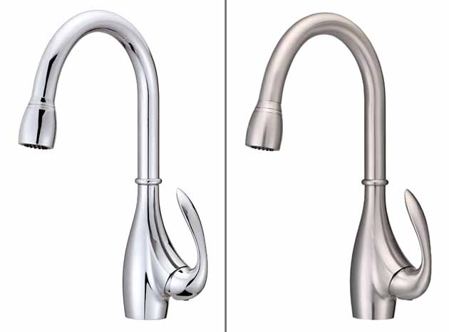 Kitchen Faucet Chrome Vs Stainless Steel