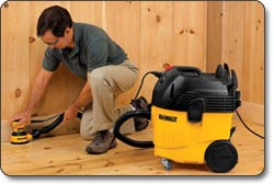 DEWALT D27905 10-Gallon Dust Extractor Vacuum