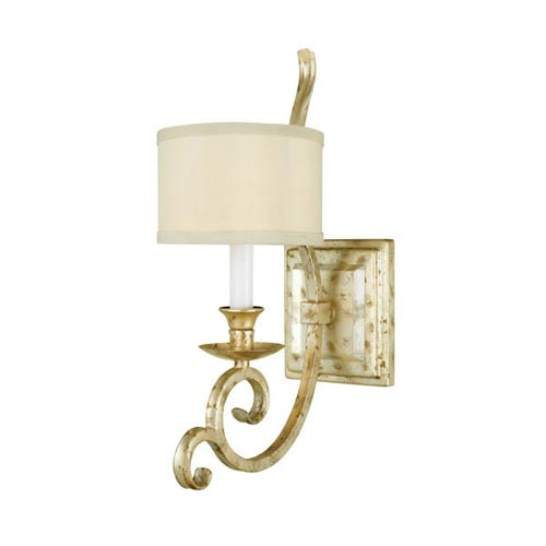 Candice Olson Lighting Lucy Single Arm Wall Sconce Gold