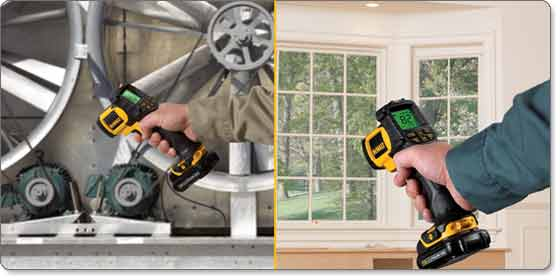 DEWALT 12-Volt Max Infrared Thermometer Kit