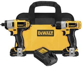 DEWALT 12-Volt Max Screwdriver/Impact Driver Combo Kit