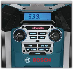 Bosch PB360D backlit controls