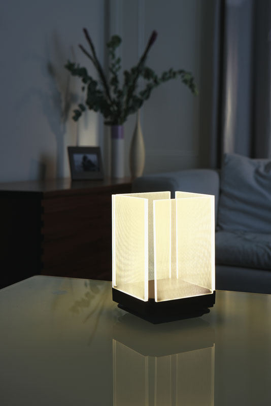 table accent led touch light low profile hfelpac table lamps. Black Bedroom Furniture Sets. Home Design Ideas