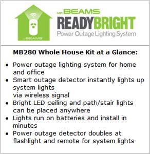 Mr. Beams MB280 Whole House Kit at a Glance