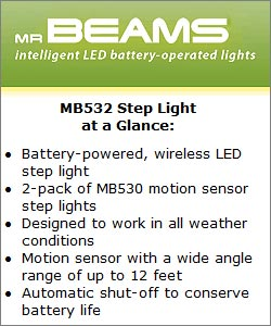 Mr Beams MB532 Step Light at a Glance
