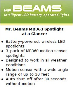 Mr Beams MB 363 Spotlight at a Glance