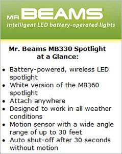 Mr. Beams MB330 Spotlight at a Glance