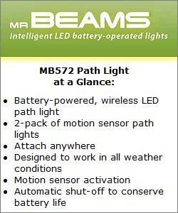 Mr Beams MB 572 Path Light at a Glance