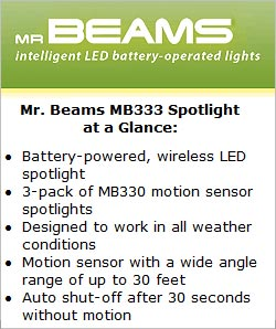 Mr Beams MB 333 Spotlight at a Glance