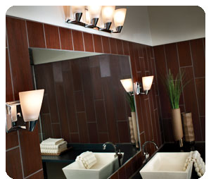 Progress Lighting P2807-15 3 Light Rizu Bathroom Light - Vanity