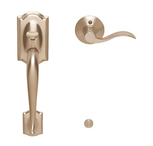 Schlage Fe285 Cam 716 Acc Lh Camelot Front Entry Handleset