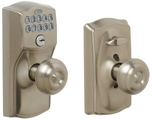 Amazon Com Schlage Fe595 Cam 619 Geo Camelot Keypad Entry