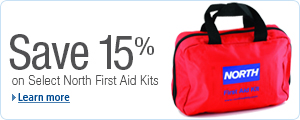 Extra 15% Off Select North by Honeywell First-Aid Kits