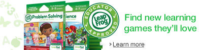 LeapFrog Learning Games