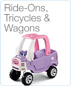 Tricycles, Scooters & Wagons