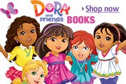 Dora & Friends Books