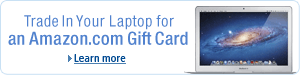 Trade In Your Laptop for an Amazon.com Gift Card