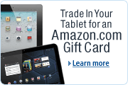 Trade In Your Tablet for an Amazon.com Gift Card
