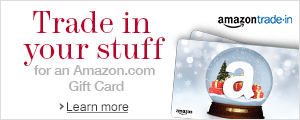 Trade In Your Stuff for an Amazon.com Gift Card