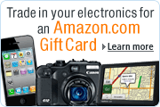 Trade In Your Electronics for an Amazon.com Gift Card