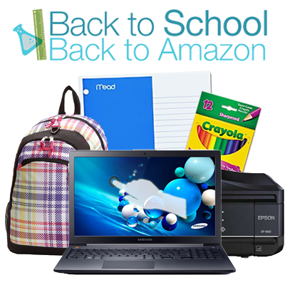 Amazon Back to School $5 off $25 or more promotional credit