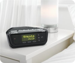 Siesta Flow is a revolutionary internet-connected digital radio with touch-sensitive controls