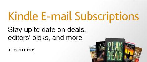 Kindle E-mail Subscriptions