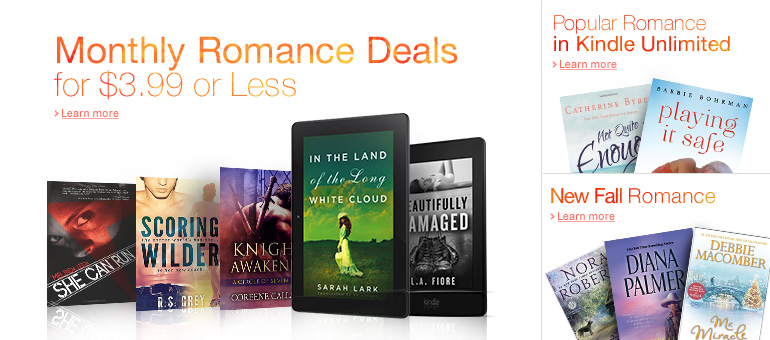 Romance Reads on Kindle
