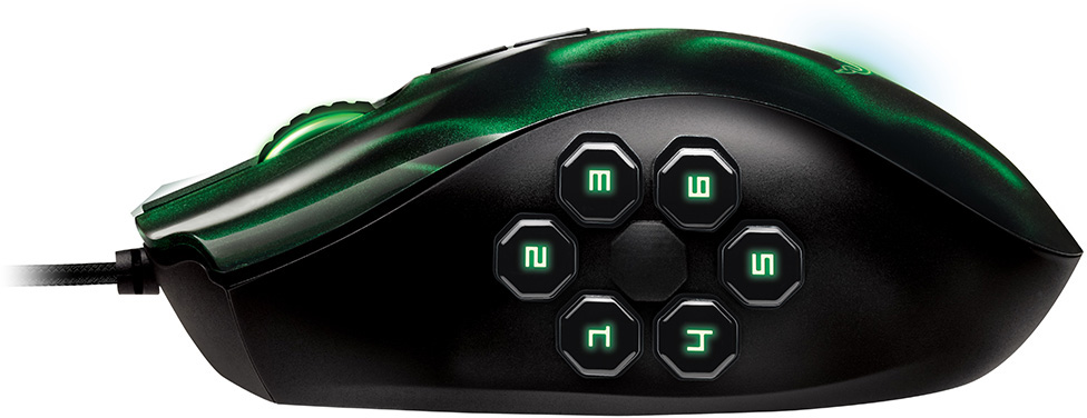Amazon.com: Razer Naga Hex MOBA PC Gaming Mouse - Green: Computers