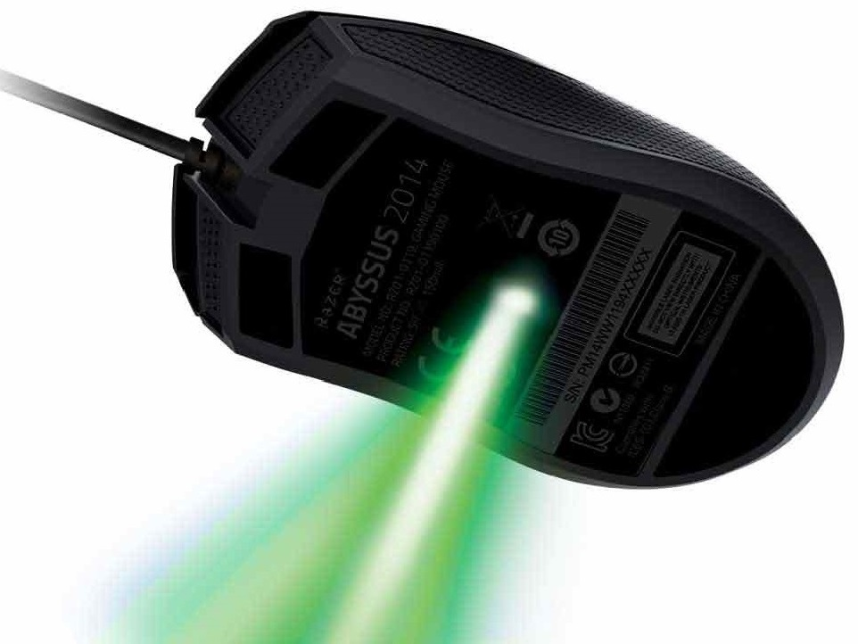 Razer Abyssus 2014 Ambidextrous Gaming Mouse