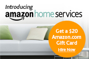 Amazon Home Services: Get a $20 Amazon.com Gift Card