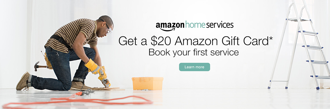 Amazon.com: Home Services: Amazon Home Services: First Time ...