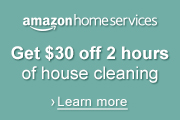 Amazon Home Services: Get $30 off 2 hours of housecleaning