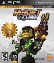 Ratchet & Clank Collection game box