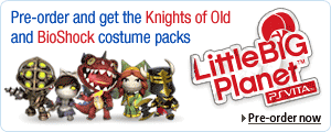 Pre-order LittleBigPlanet for PS Vita
