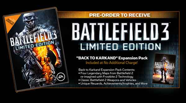 Battlefield 3 Release Date