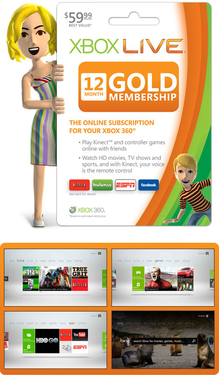 Xbox LIVE 3month Subscription