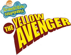Spongebob Squarepants The Yellow Avenger game logo