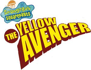 Spongebob Squarepants The Yellow Avenger game logo
