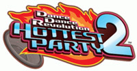 'DanceDanceRevolution Hottest Party 2' game logo