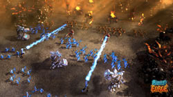 Large-scale battle scenarios in &#39BattleForge&#39