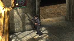 Harry wielding a wand in 'Harry Potter and the Half-Blood Prince' the Video Game